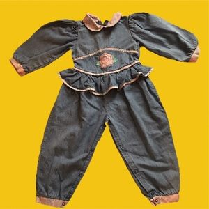 Other - 90s Rose Toddler Jumpsuit